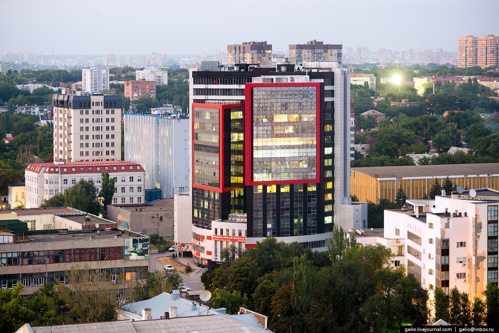 Rostov-on-don from a height 51