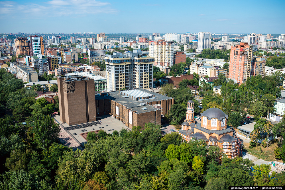 Rostov-on-don from a height 58