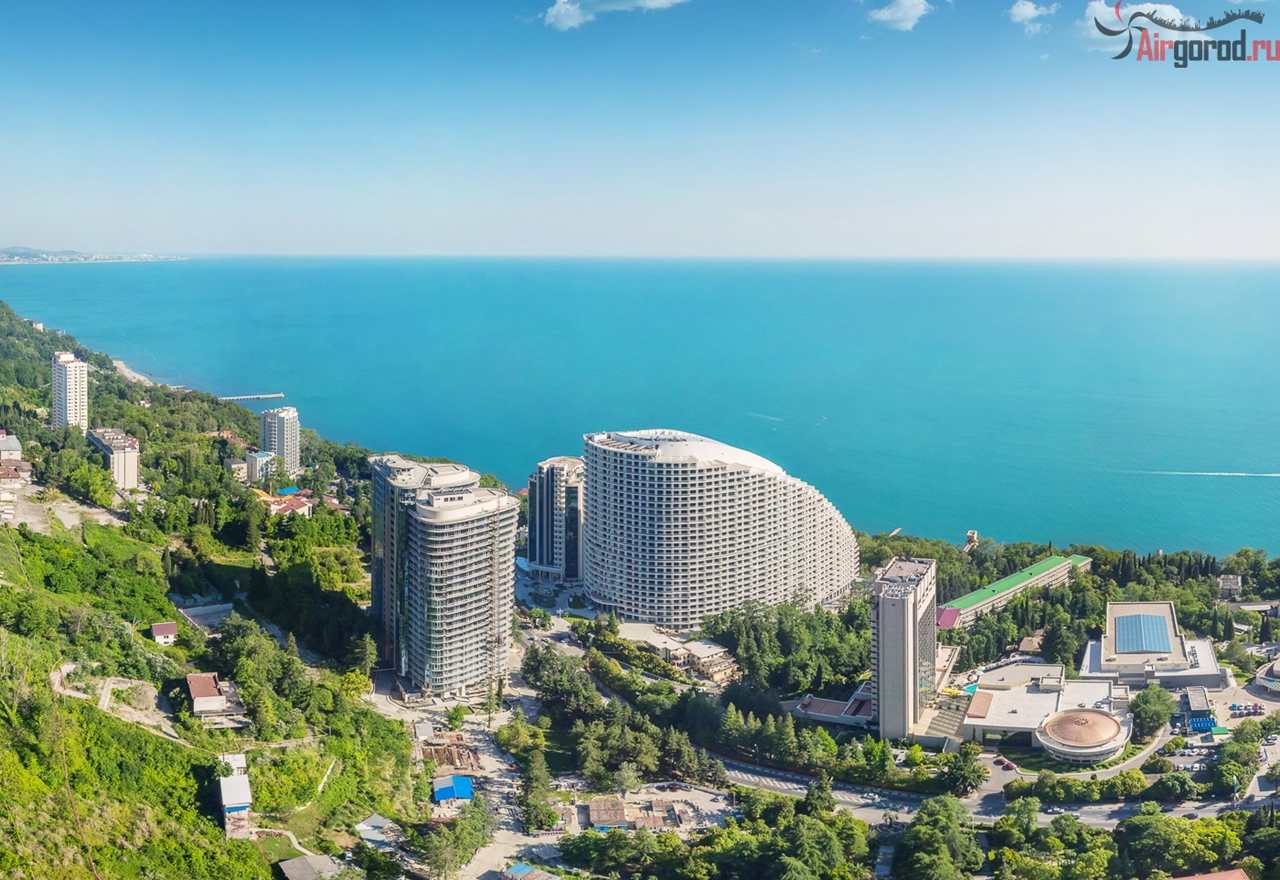 Sochi from the height of 02