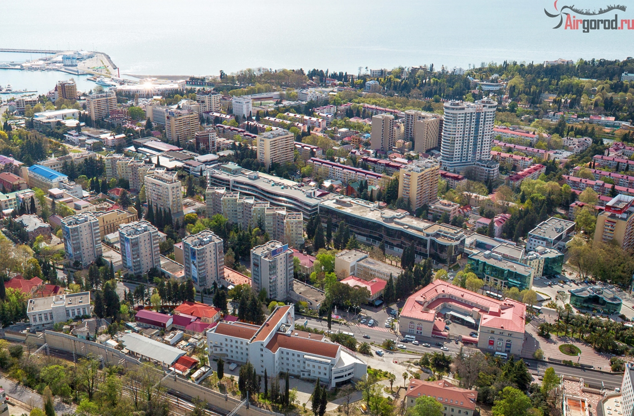 Sochi from the height of 12