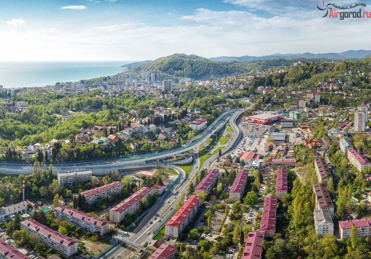 Sochi from the height of 20