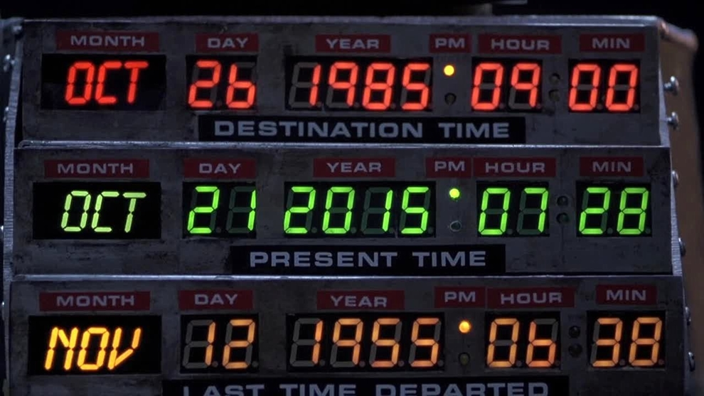 Technology from Back to the future 2 expectations and reality 01