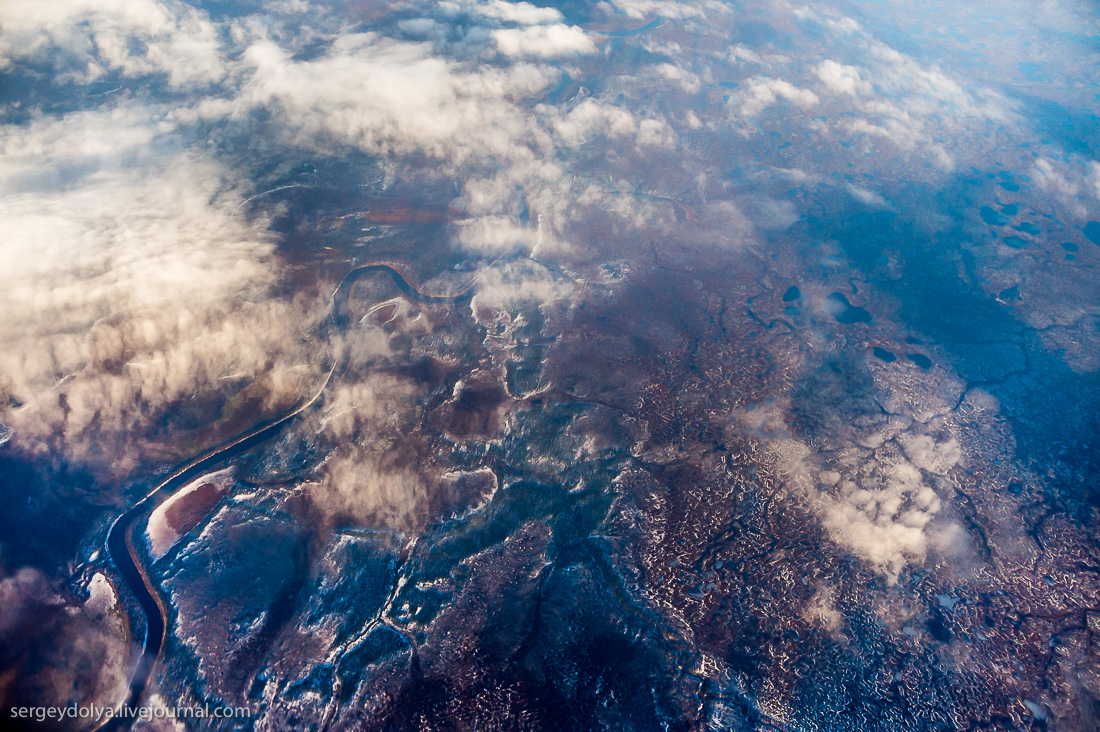 The North of Russia from height 12