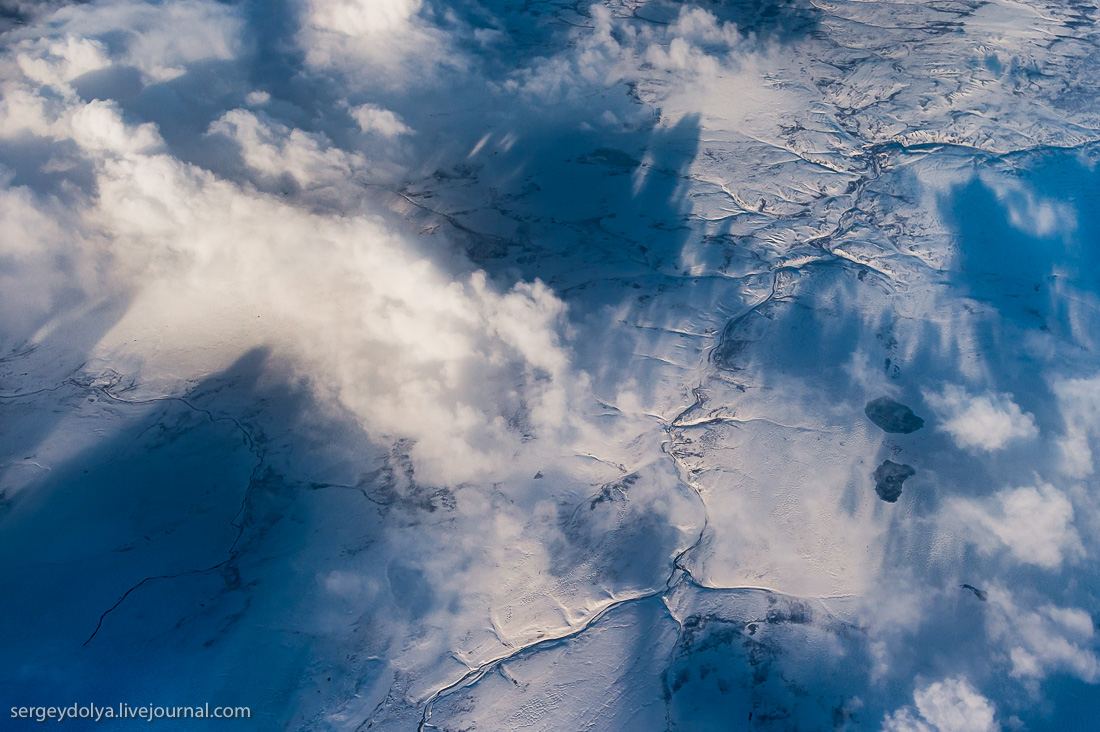 The North of Russia from height 19
