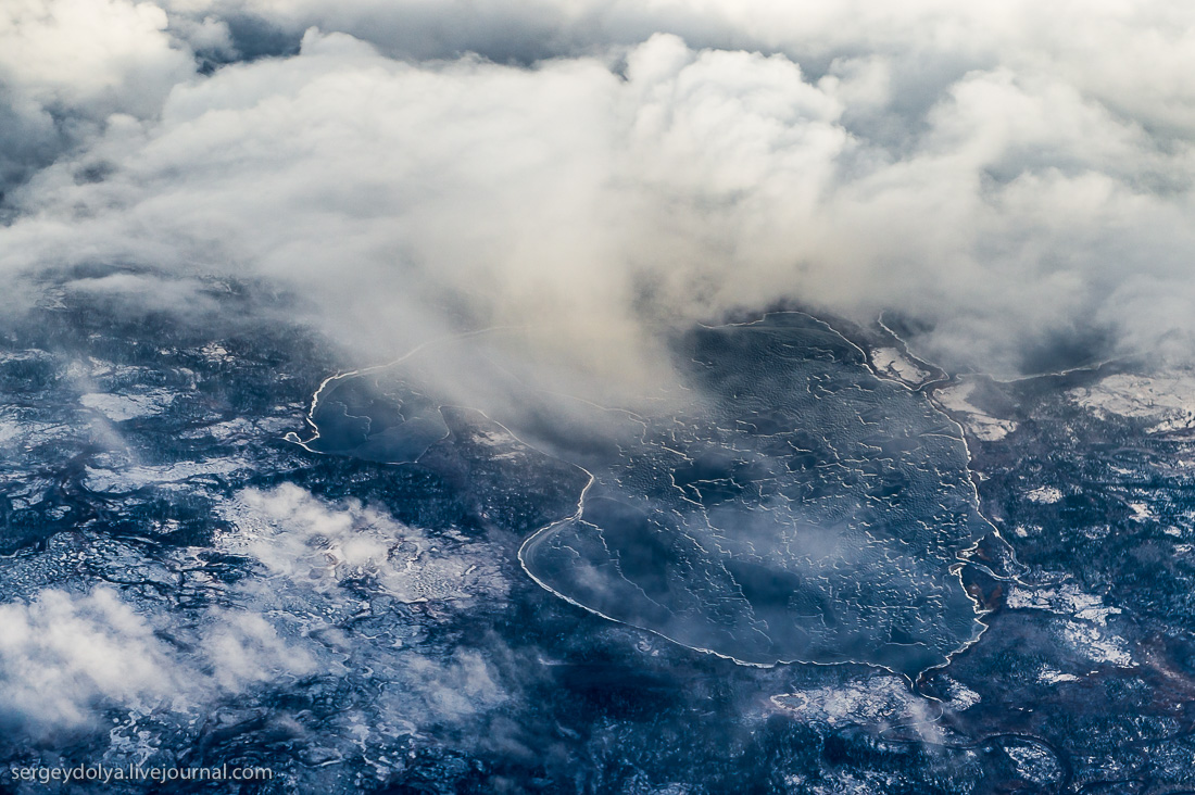 The North of Russia from height 21