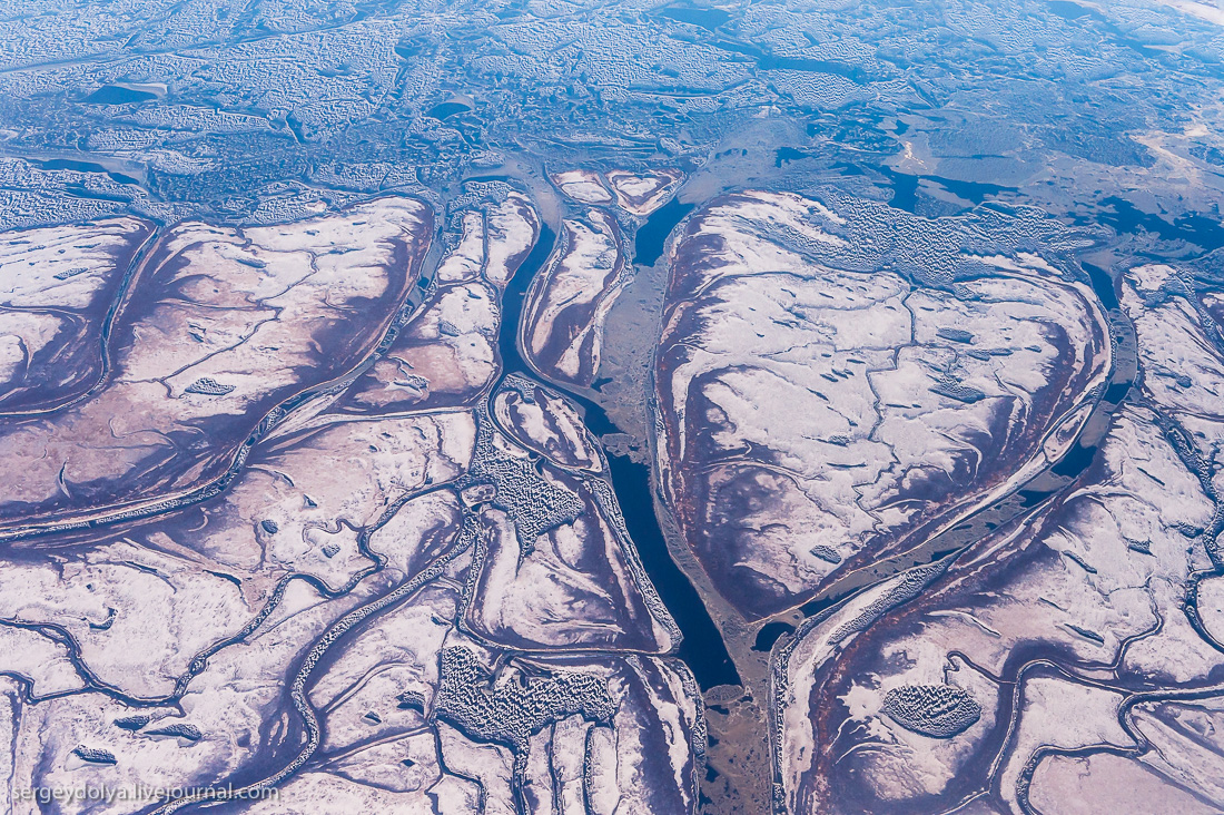 The North of Russia from height 25