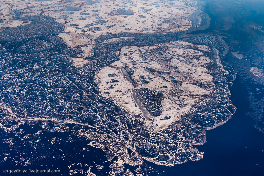 The North of Russia from height 27