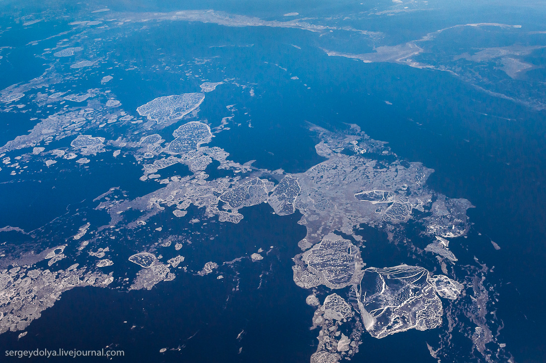 The North of Russia from height 29