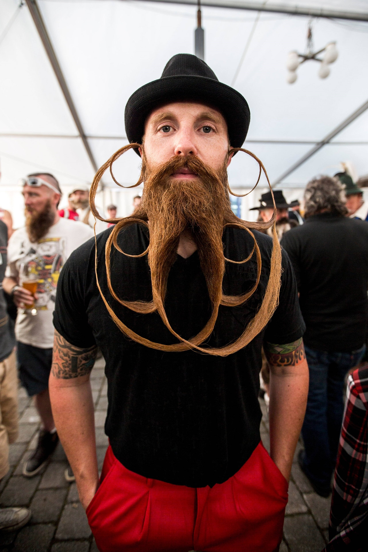 The world championship beard and mustache 18