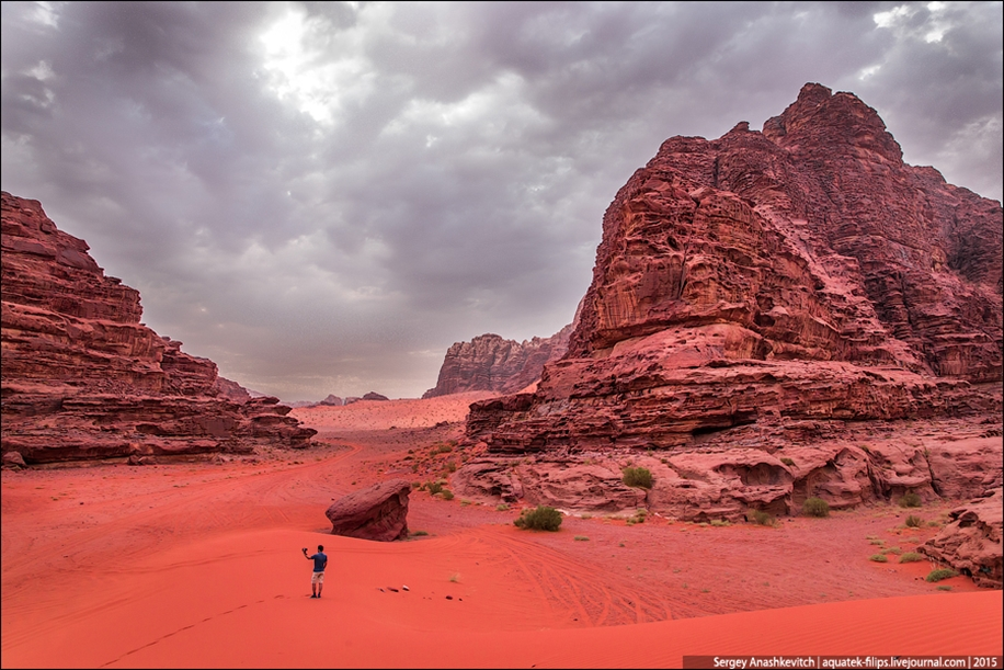 Where we were filming the Martian 06