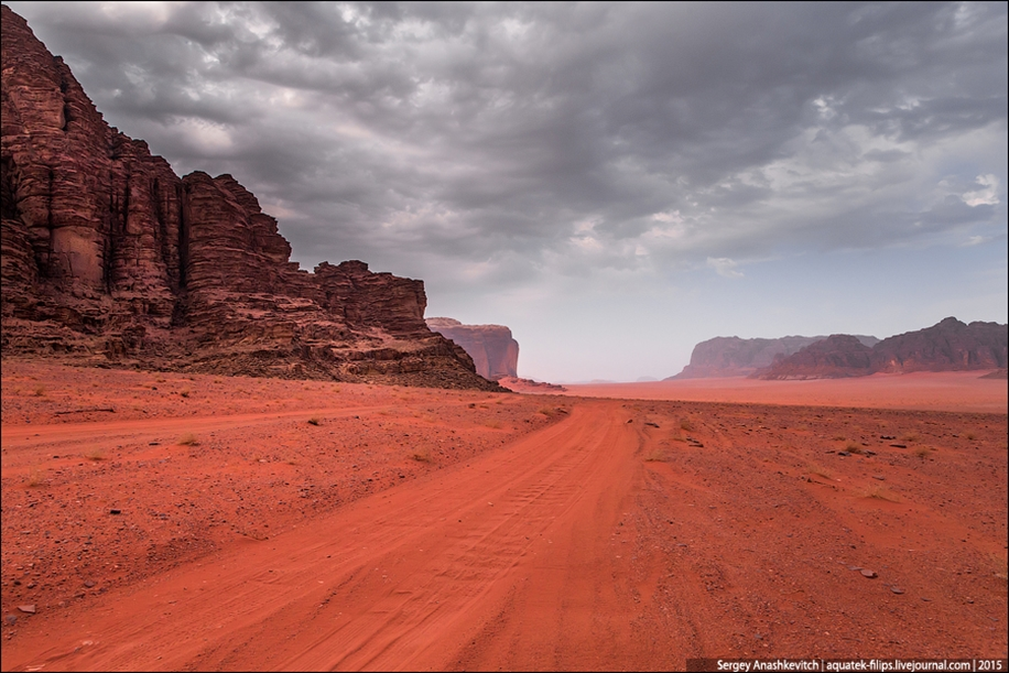 Where we were filming the Martian 13