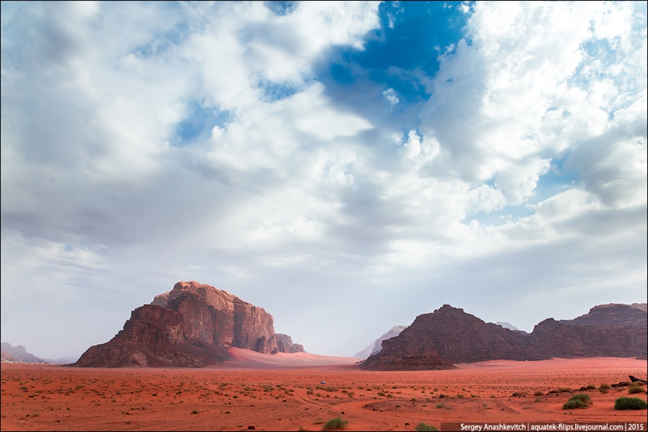 Where we were filming the Martian 33
