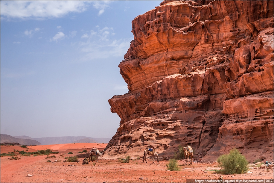 Where we were filming the Martian 36