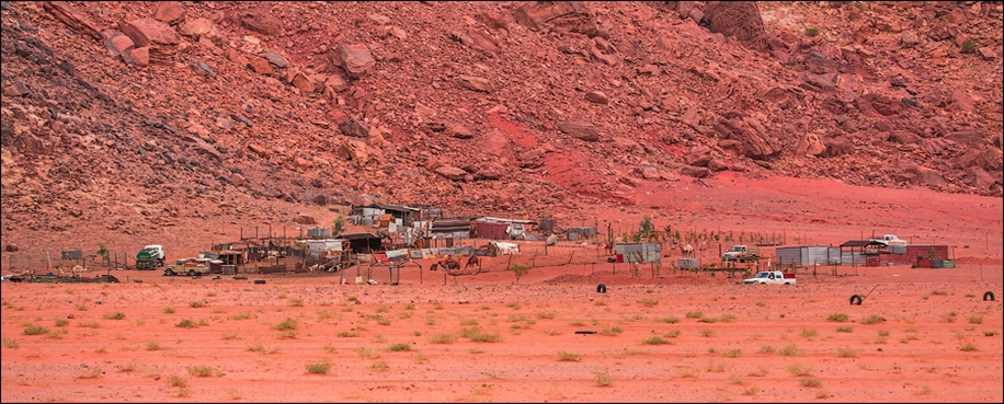 Where we were filming the Martian 42