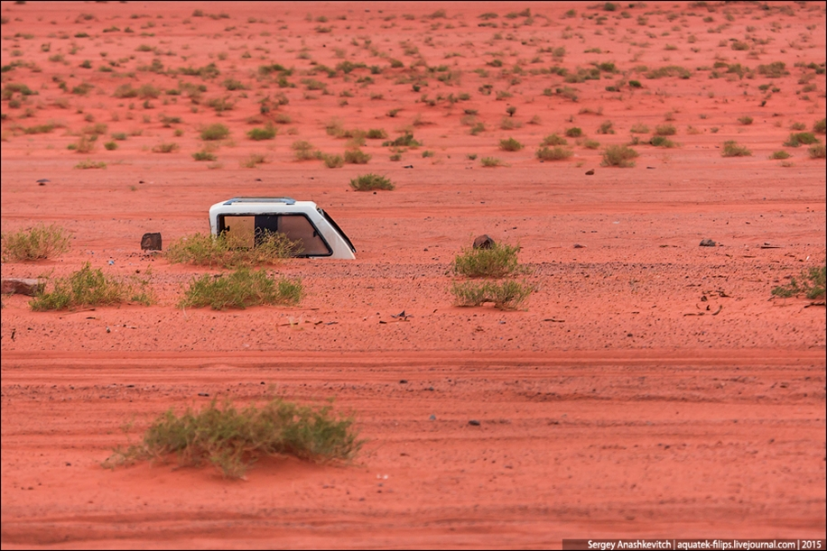 Where we were filming the Martian 48