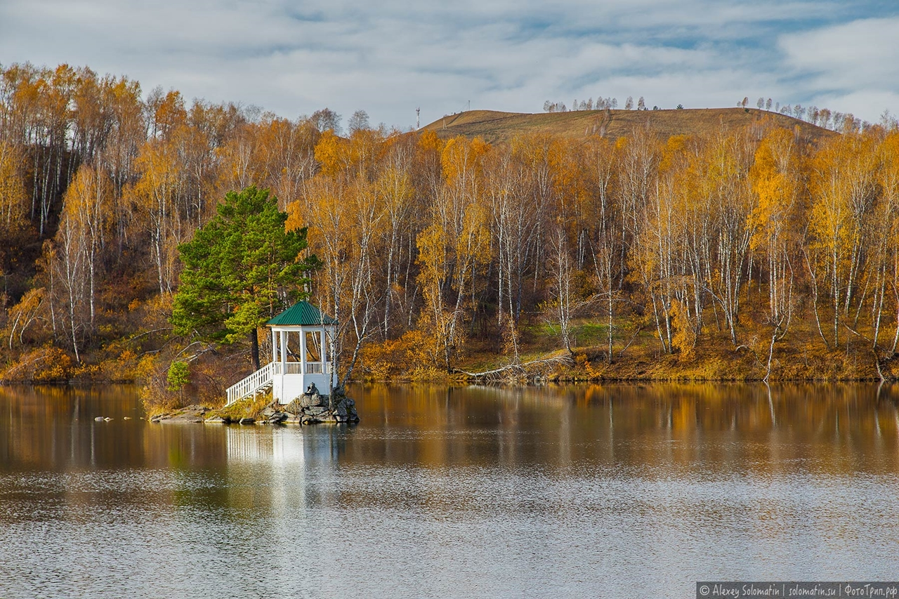 A riot of autumn colors in the Altai 04