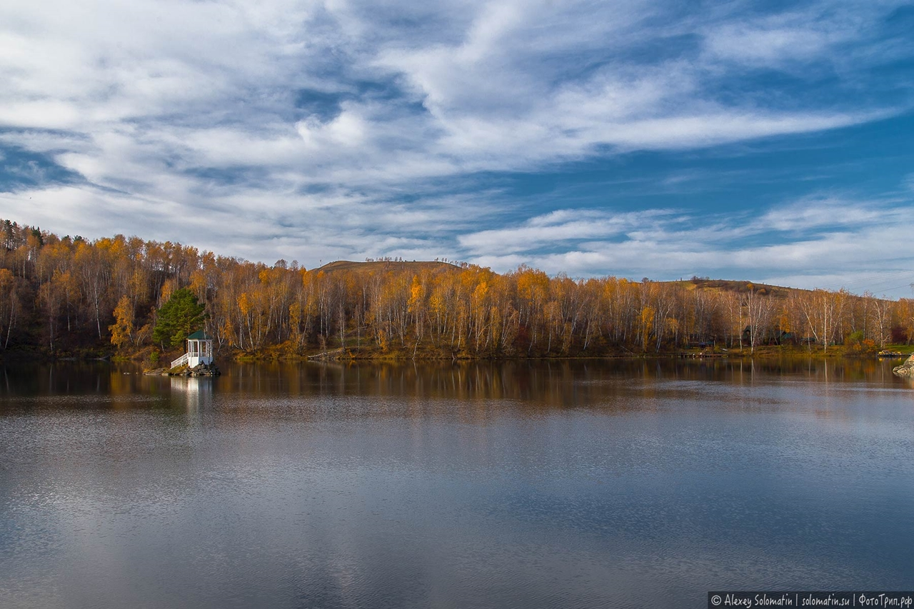 A riot of autumn colors in the Altai 05