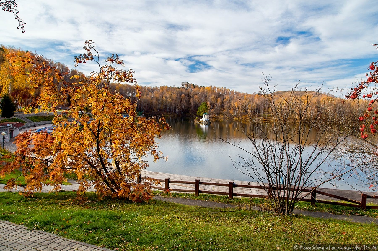 A riot of autumn colors in the Altai 10