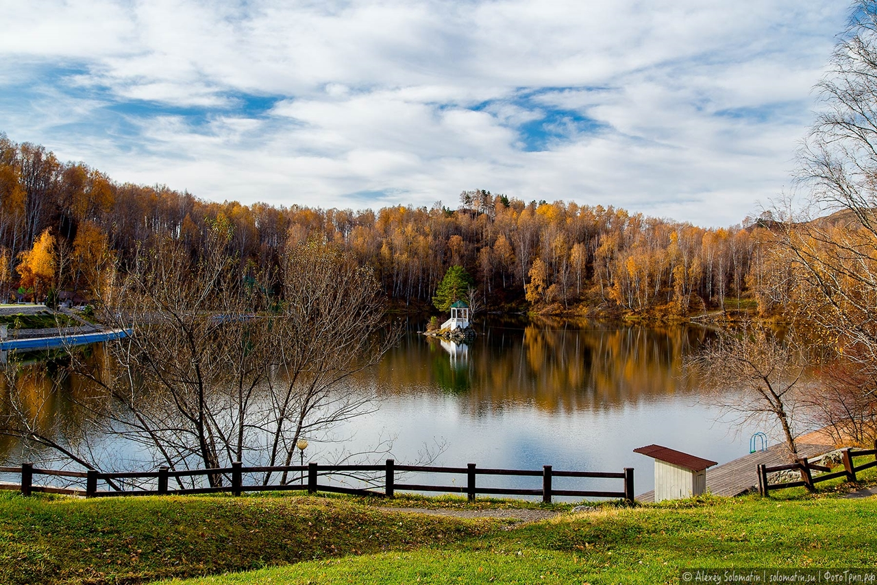 A riot of autumn colors in the Altai 11