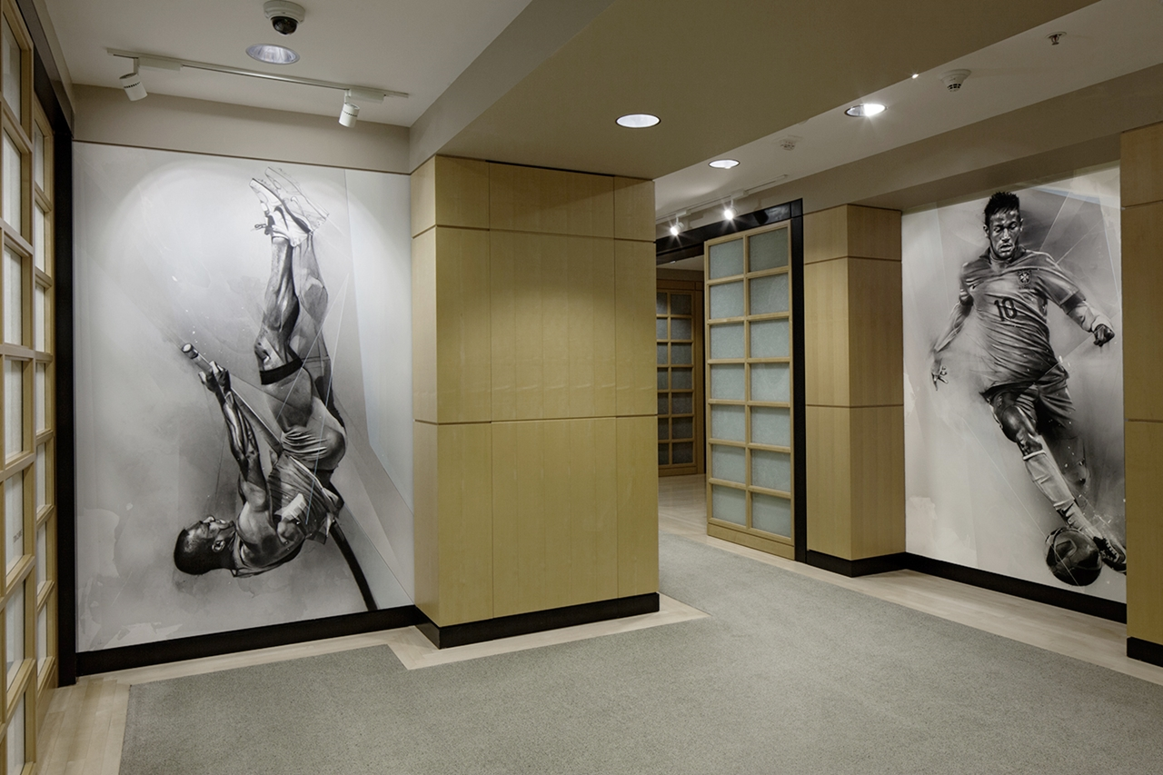 Artworks Made For Nike Headquarters Executive Offices 16