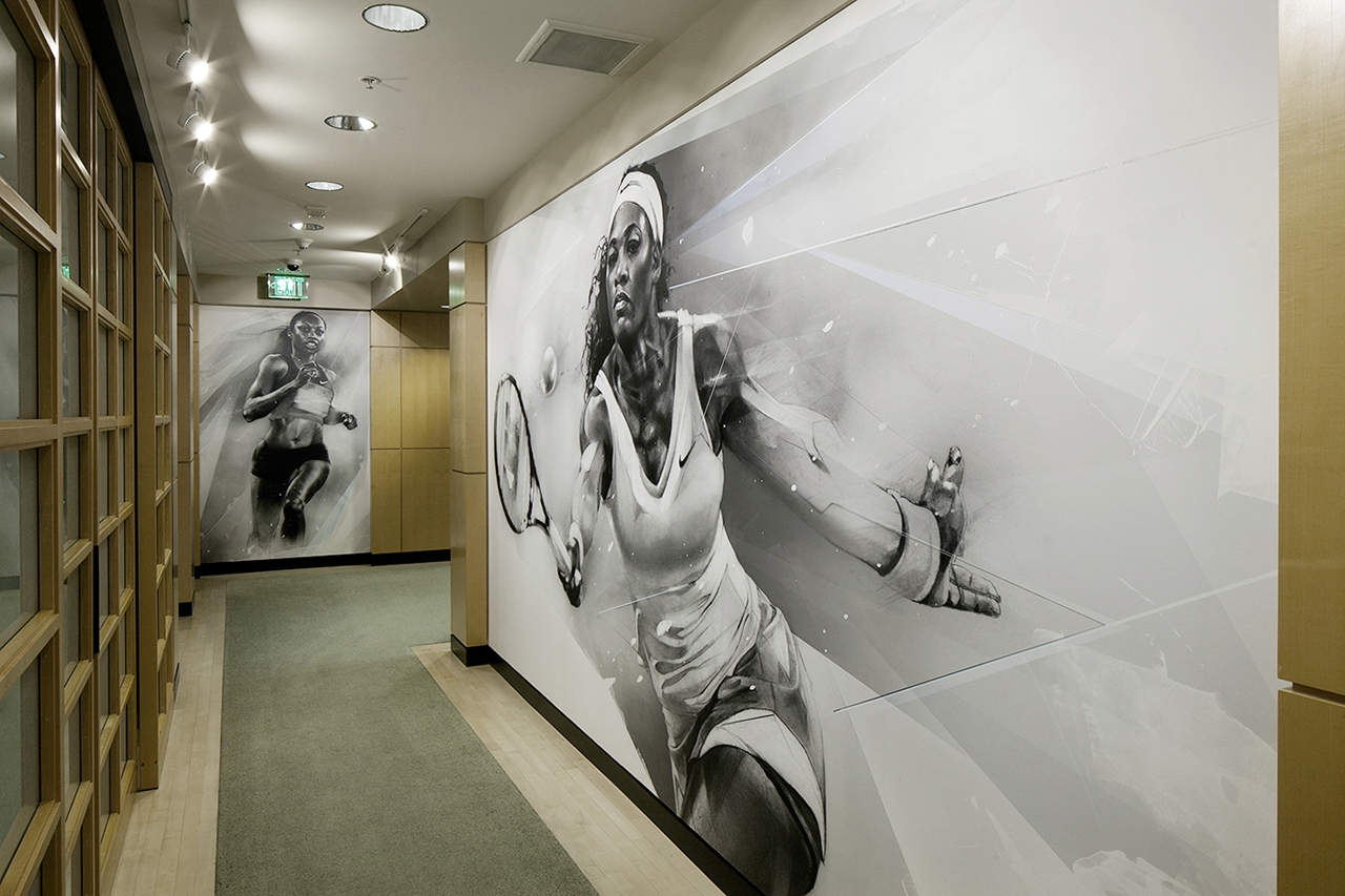 Artworks Made For Nike Headquarters Executive Offices 17