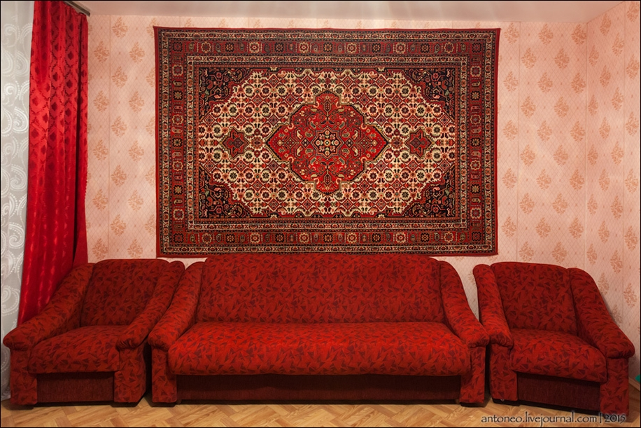 Back in the USSR-time apartment on the Arbat 22