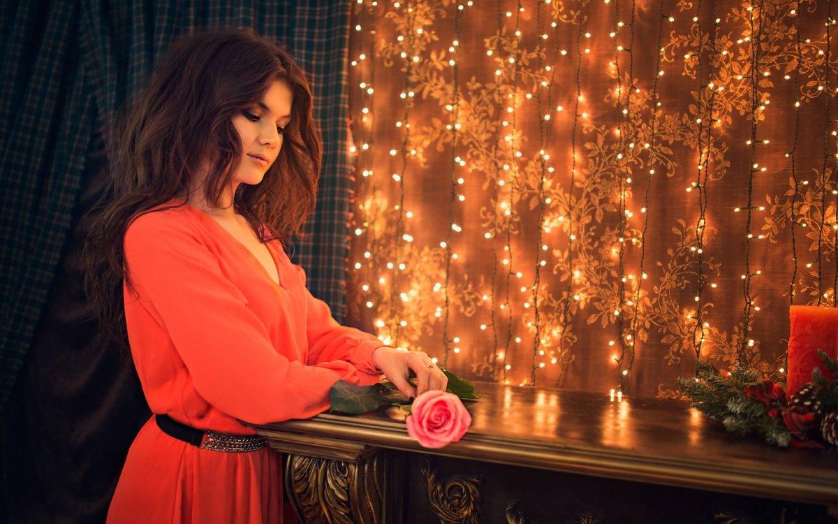 Красивые фотографии девушек и цветов