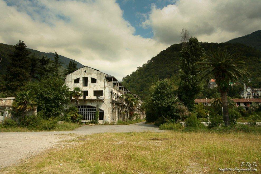 Forgotten resorts of Abkhazia_2