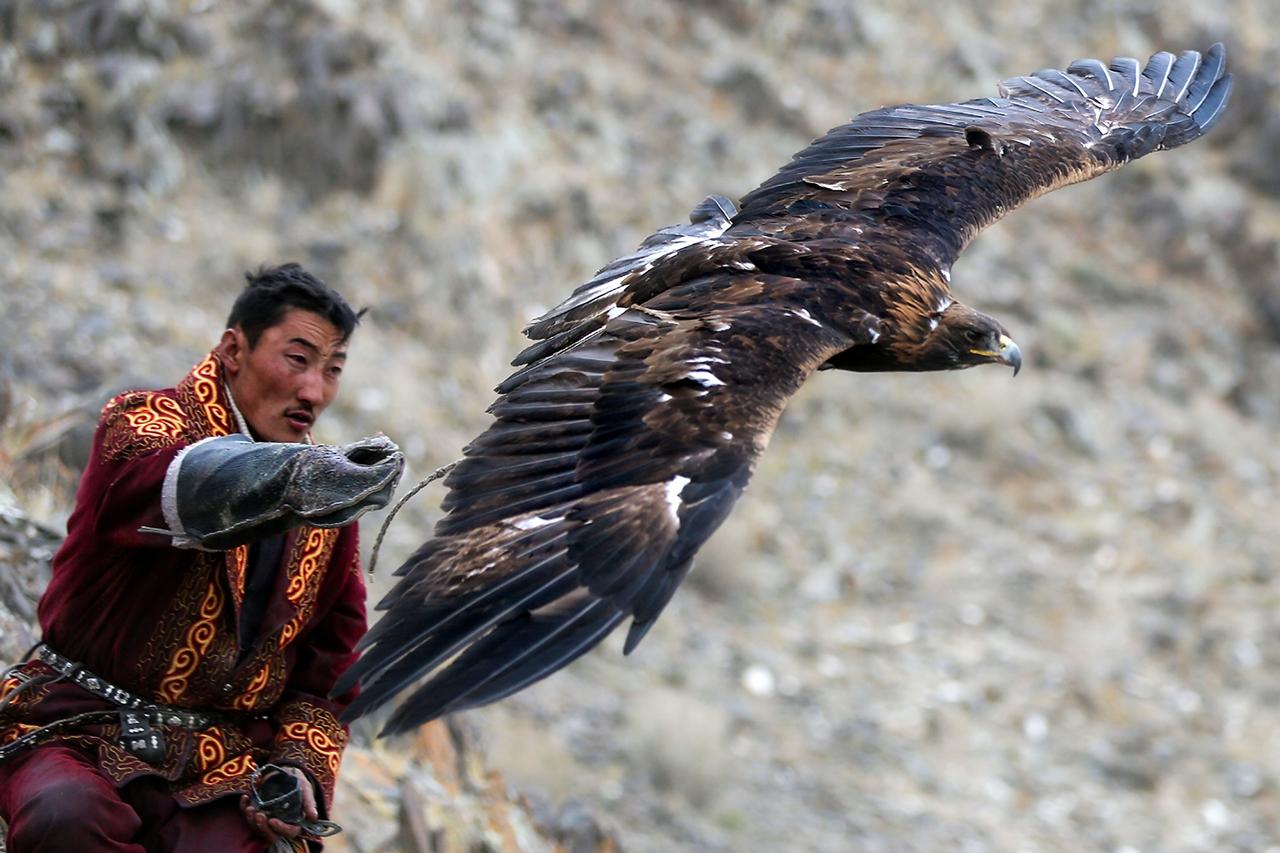 Golden Eagle Festival in Mongolia 04