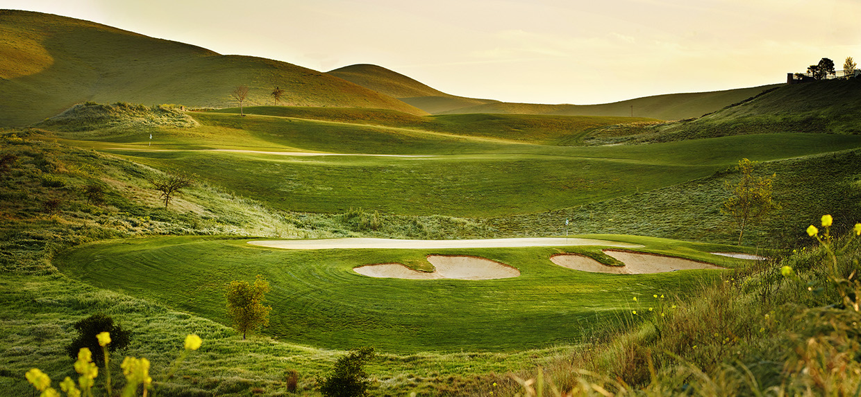 Golf course from R. Brad Knipstein 06