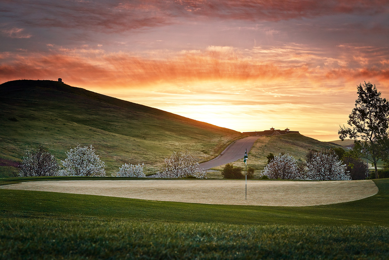 Golf course from R. Brad Knipstein 07