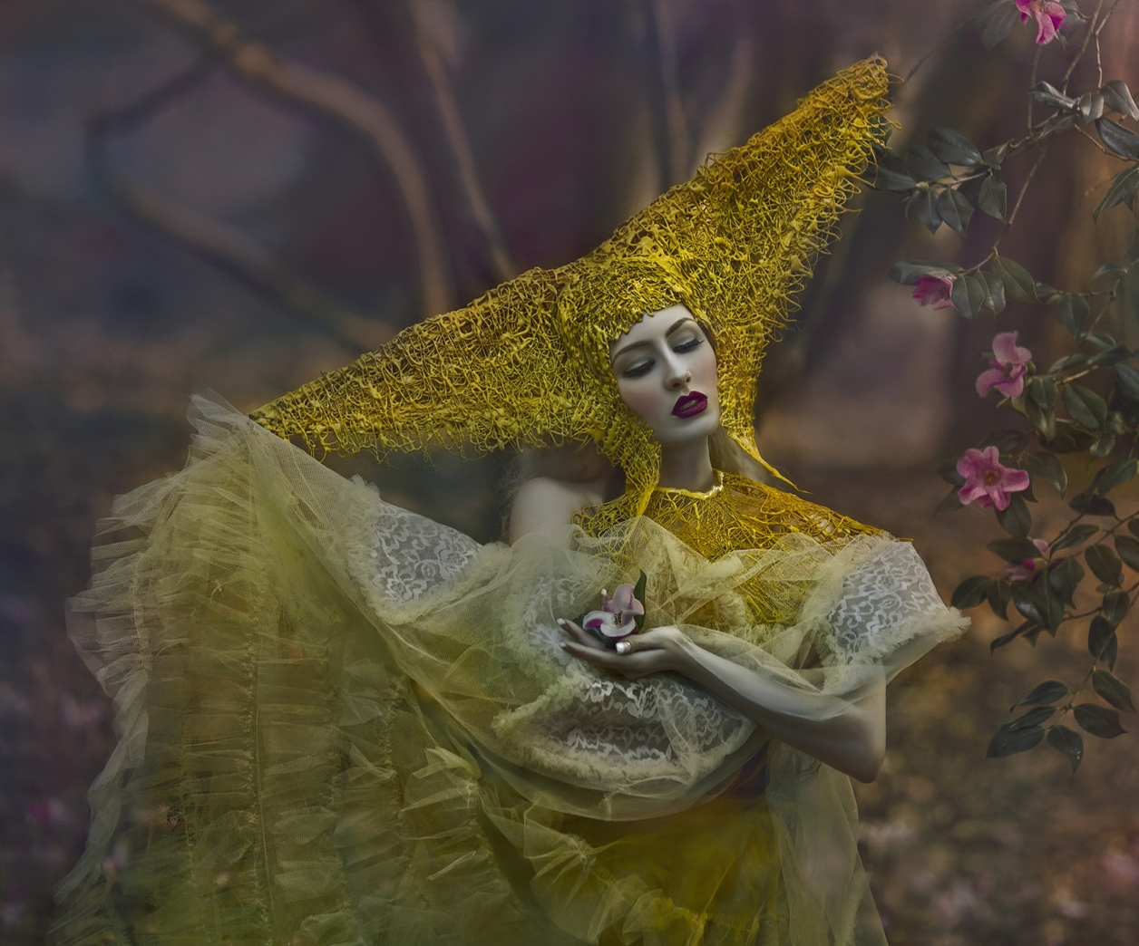 Magical images of women in the Welsh forests 23