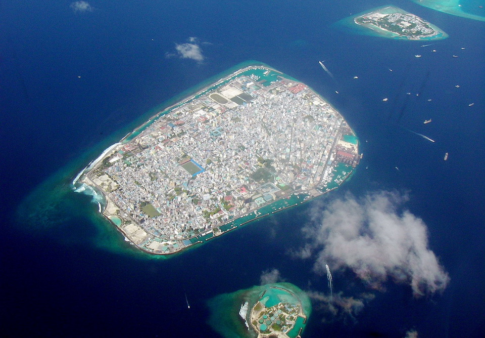 Malé is a city in the ocean 02