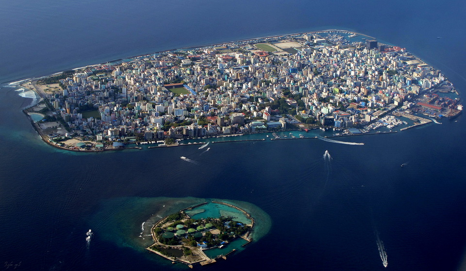 Malé is a city in the ocean 06