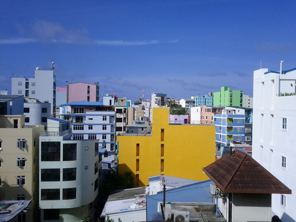 Malé is a city in the ocean 13