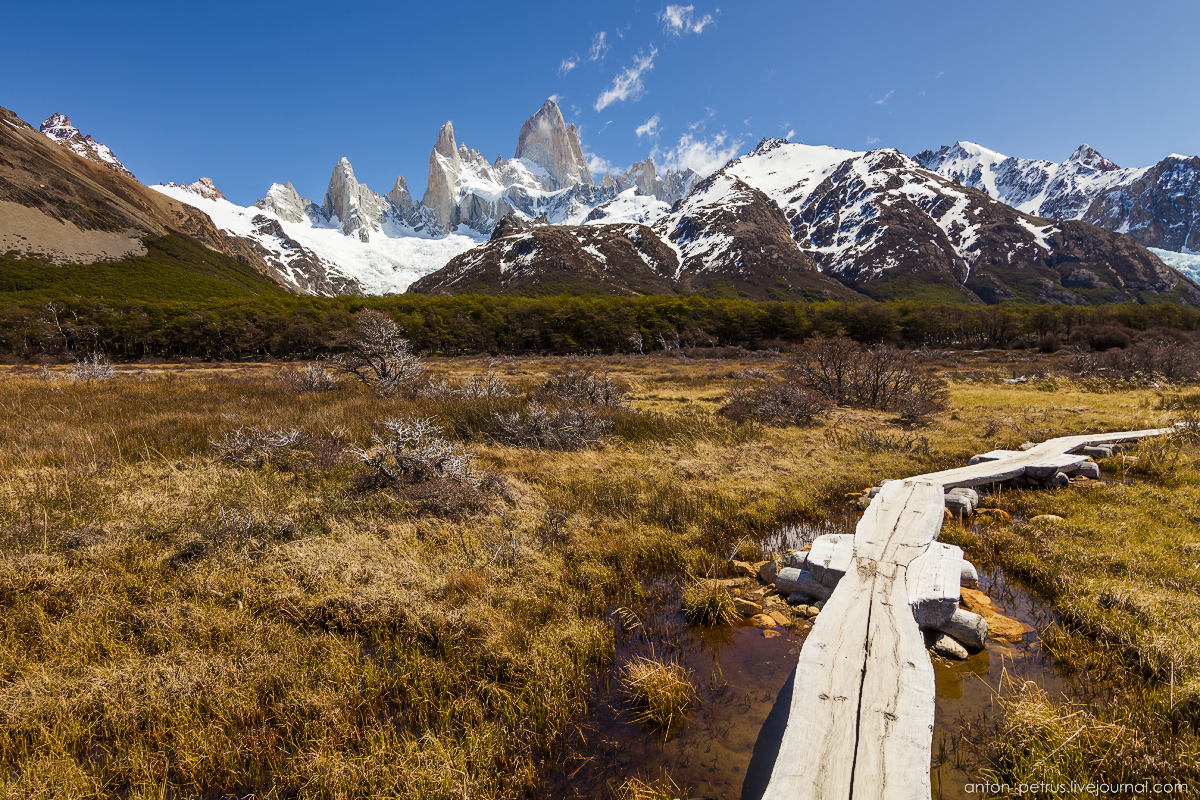 Patagonia. The most beautiful track in the world 05