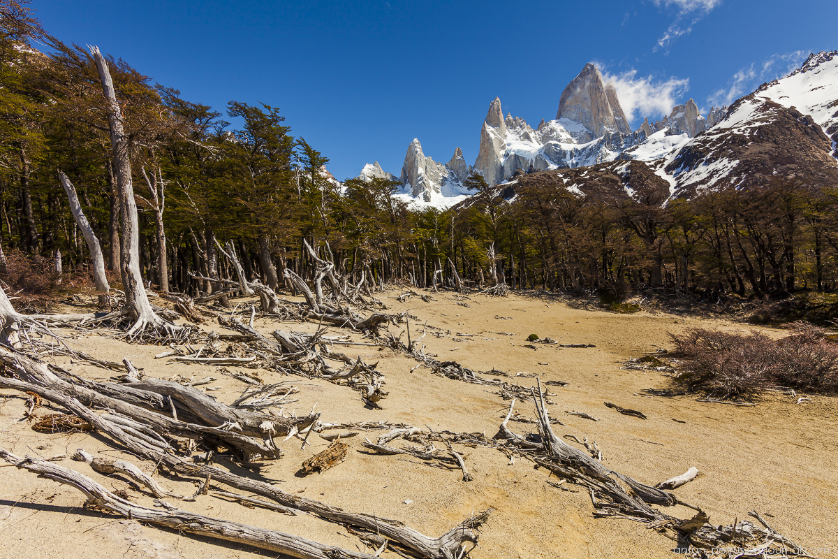 Patagonia. The most beautiful track in the world 06