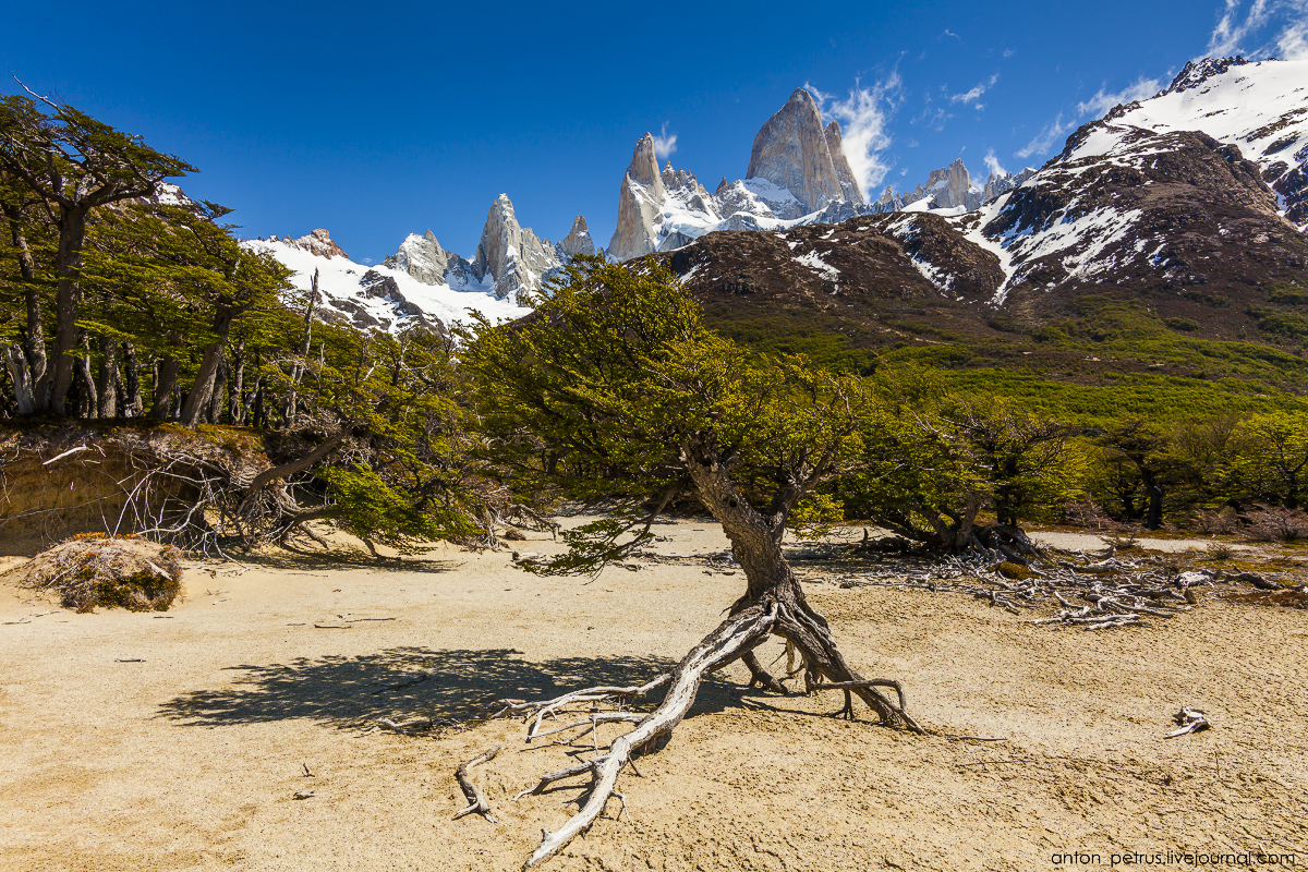 Patagonia. The most beautiful track in the world 07
