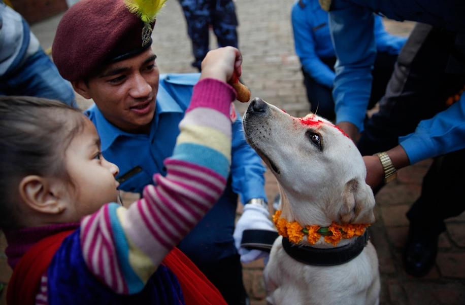 Police in Kathmandu 13
