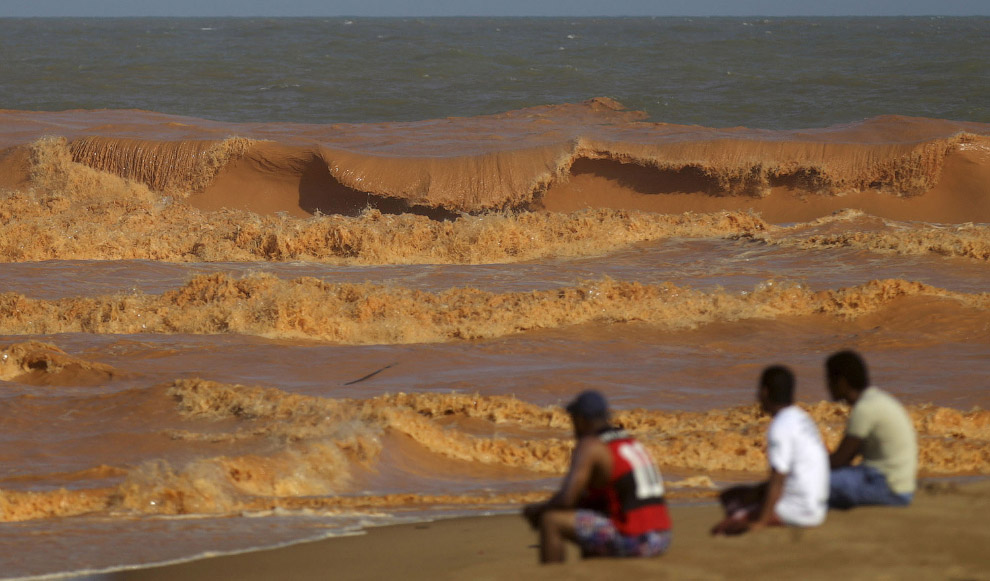 Red mud in the Atlantic ocean 15