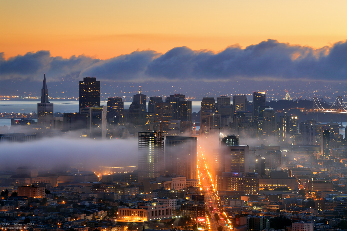 San Francisco is a City of bridges and fog 018