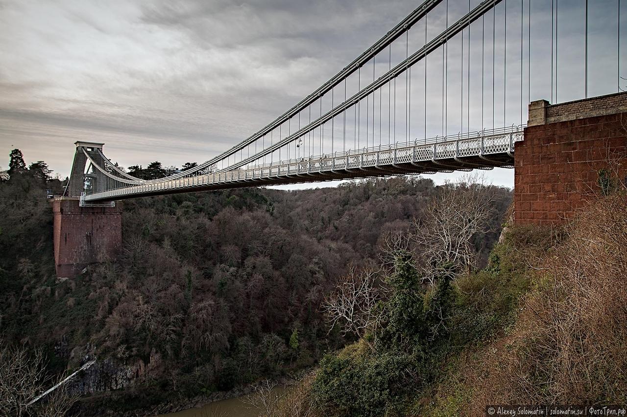 The Clifton bridge in Bristol 03