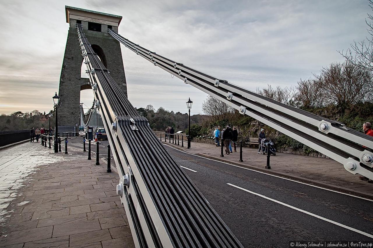 The Clifton bridge in Bristol 05