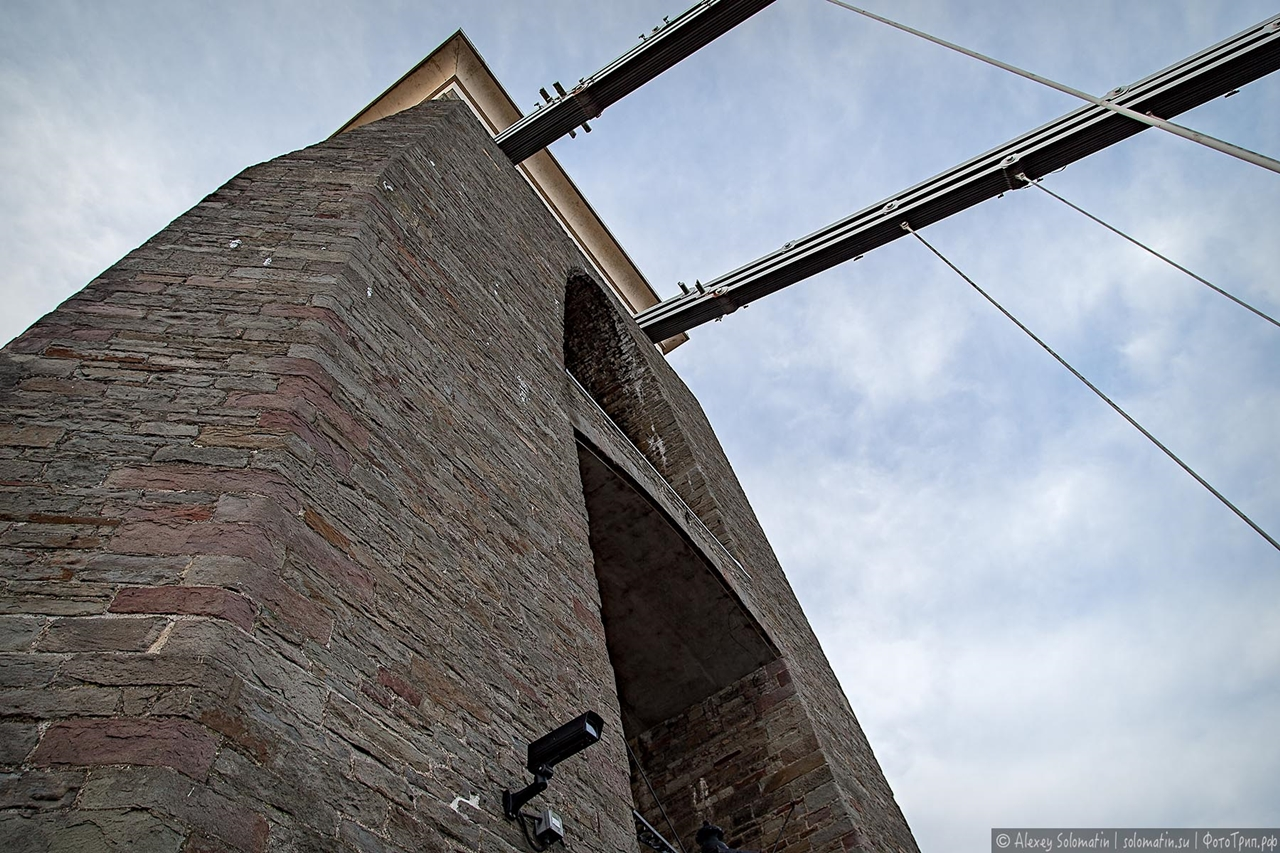 The Clifton bridge in Bristol 08