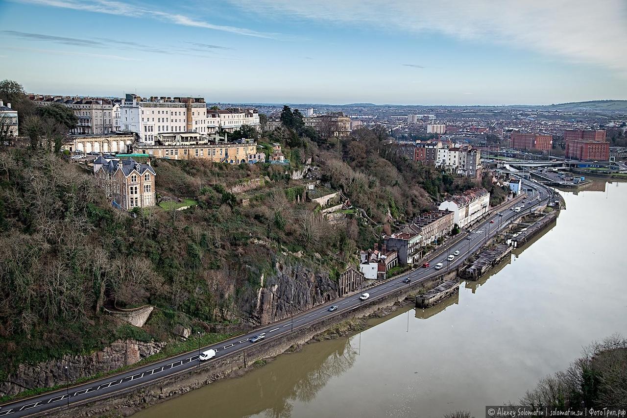 The Clifton bridge in Bristol 09