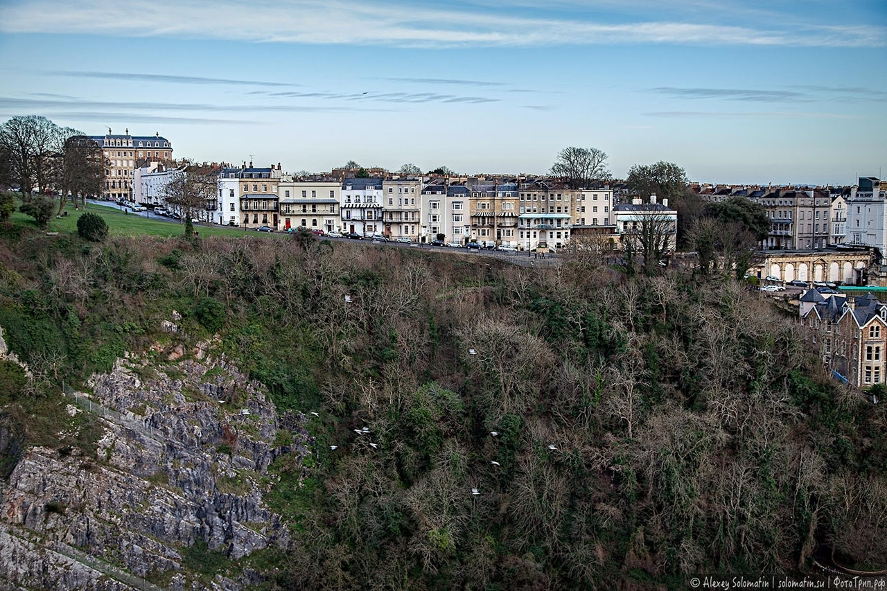 The Clifton bridge in Bristol 10