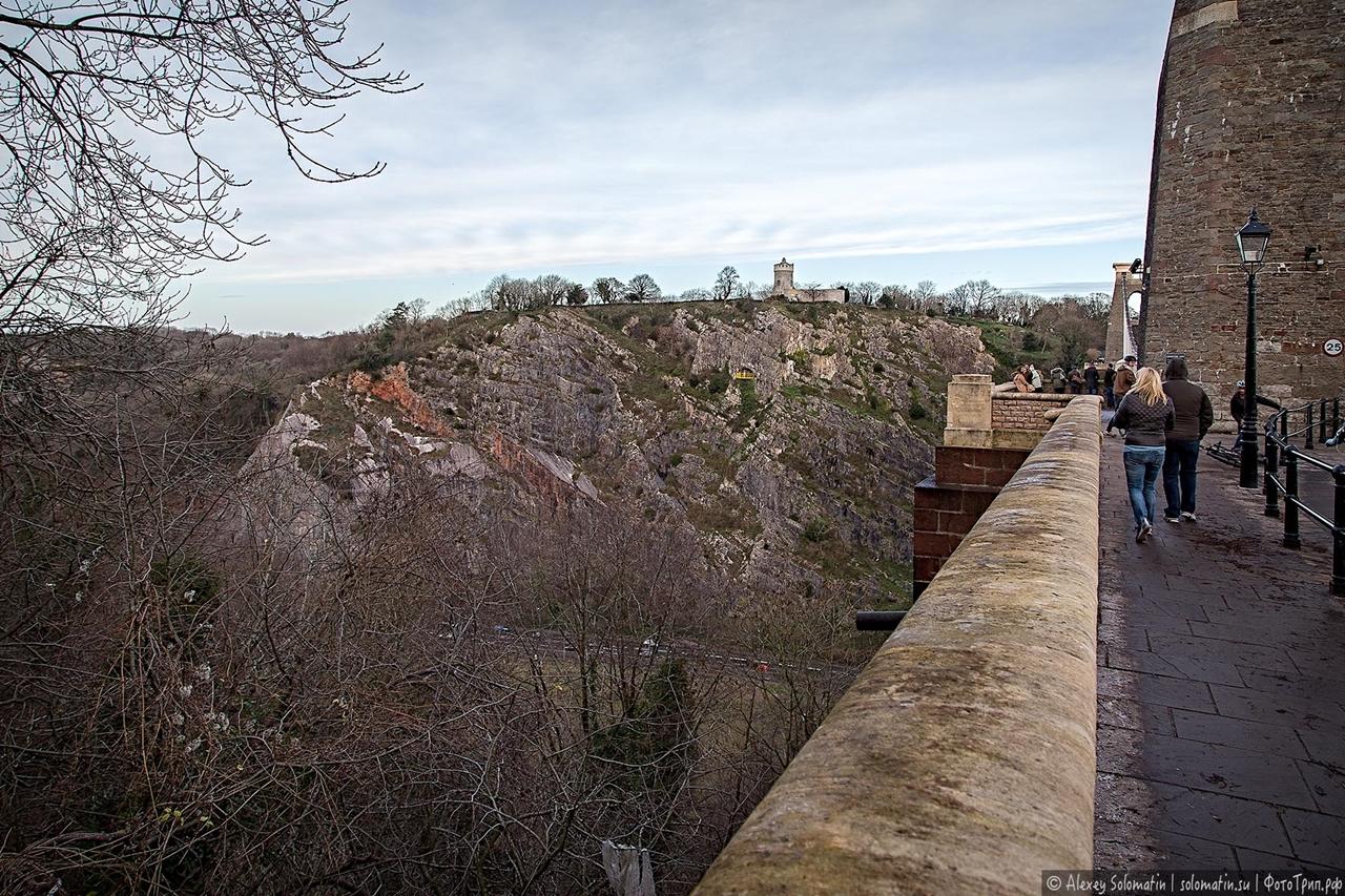 The Clifton bridge in Bristol 11