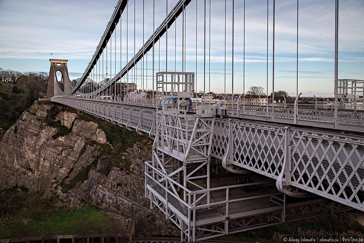 The Clifton bridge in Bristol 13