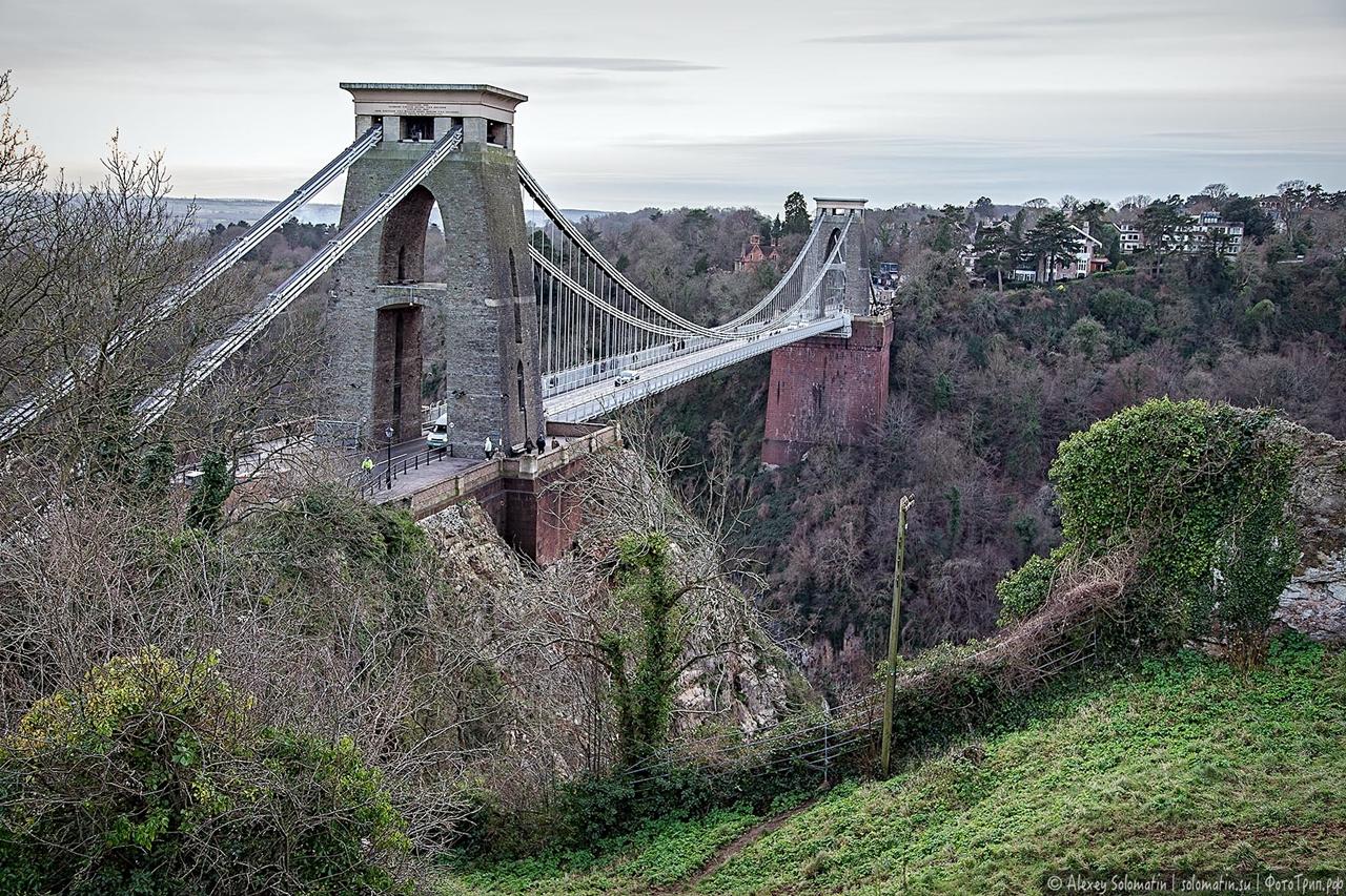 The Clifton bridge in Bristol 20
