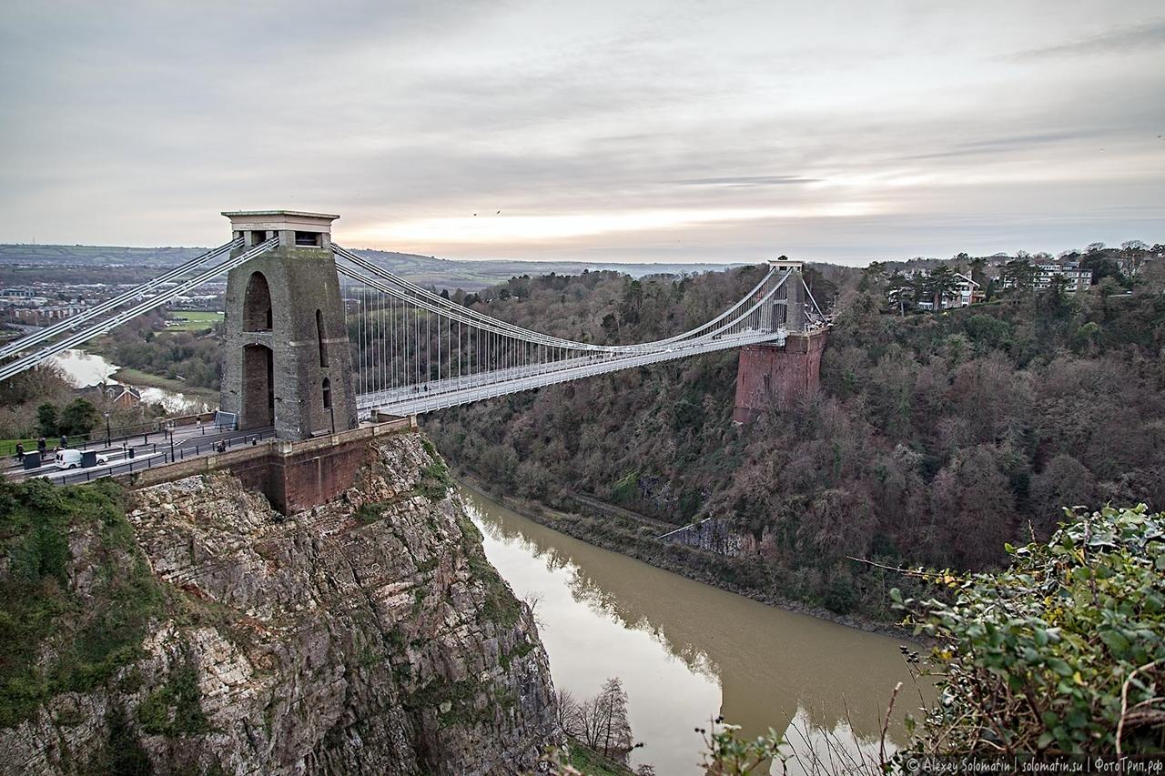 The Clifton bridge in Bristol 21